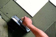 Выбираем надежный клей для керамической плитки