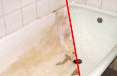 Обновляем чугунную ванную с помощью краски