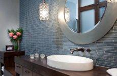 Правила выбора круглого зеркала в ванную