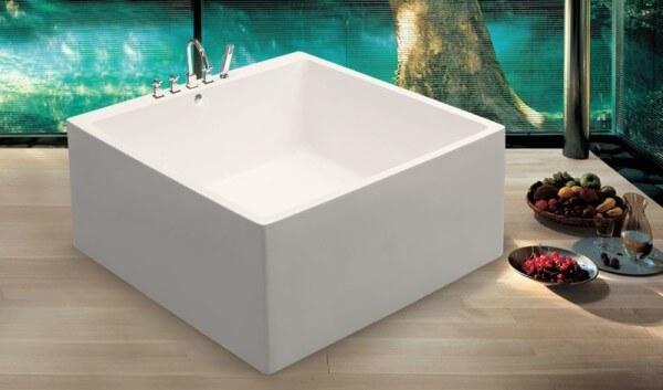 квадрат ванна
