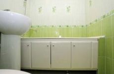 ПВХ панели в ванной – два в одном: экономичность и привлекательность