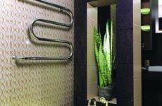 М-образный полотенцесушитель: особенности устройства