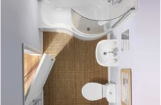 Идеи обустройства небольшой ванной комнаты