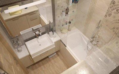 Как грамотно продумать дизайн ванной комнаты маленького размера?