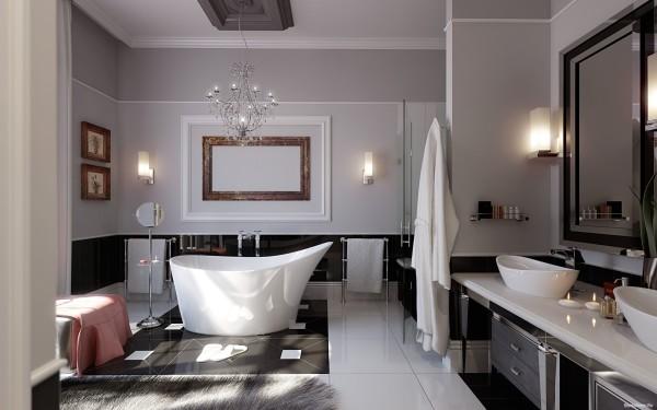 обои ванна