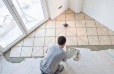 Рекомендации по укладке плитки в ванной комнате