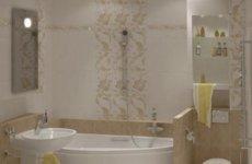 Оригинальные панели ПВХ под плитку для ванной