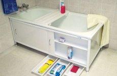 Отделка ванны – пластиковый экран