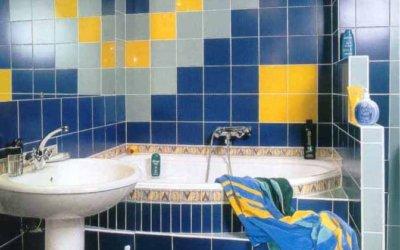 Отделка пола в туалете керамической плиткой