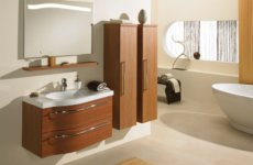 Тонкости выбора: подвесной шкаф в ванную