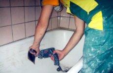 Как самому покрасить ванну в домашних условиях
