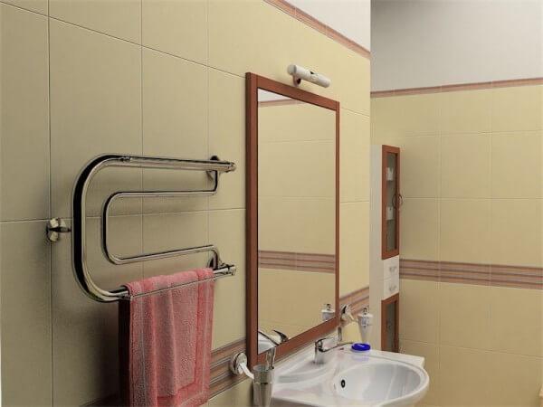 ванна полотенцесушитель