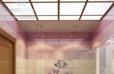 Какой потолок сделать в ванной комнате?