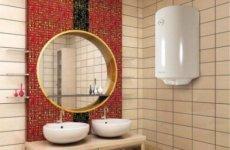 Выбор проточного водонагревателя для ванной комнаты
