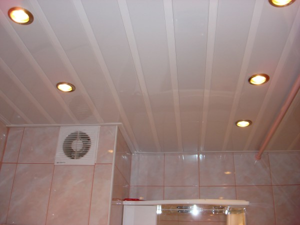 пластиковый потолок