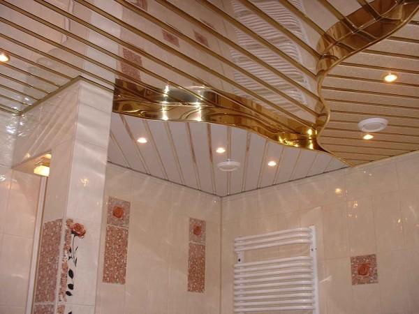 реечный потолок стиль