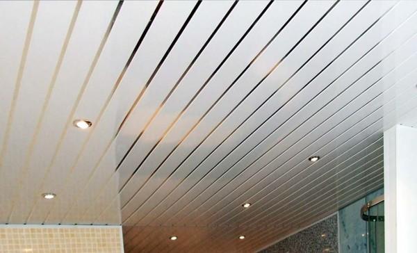рынок реечный потолок