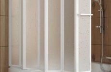 Лучшая защита от брызг – ширма для ванны