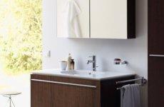 Шкаф навесной для ванной комнаты: практичный выбор, который станет украшением интерьеру