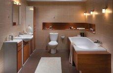 Как удачно сделать ремонт и обставить совмещенную ванную комнату