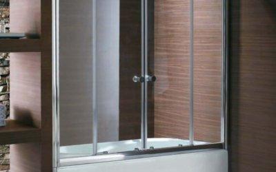 Выбор стеклянной перегородки в ванную комнату