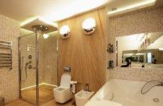 Выбираем светильники для ванной комнаты