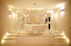 Подбираем освещение для ванной: светодиодные лампы