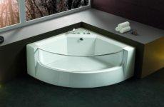 Как правильно подобрать и установить угловую ванну