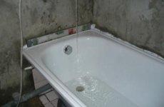Правила установки стальной ванны