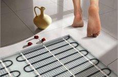 Готовимся к зиме: утепление полов ванной комнаты