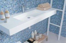 Интересные идеи для ванной комнаты: отделка мозаикой