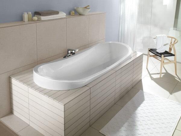 ванна кирпич
