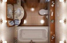 Маленькая ванна в панельном доме: особенности комфортного и уютного интерьера
