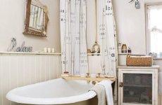 Стиль кантри: оформляем ванную комнату
