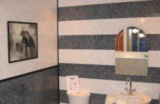 Примеры ванных комнат, отделанных пластиковыми панелями