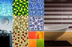 Популярные виды керамической плитки для ванной