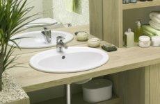 Плюсы и минусы встраиваемой раковины для ванной