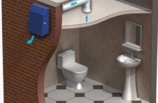 Подбираем, монтируем вытяжку в туалете