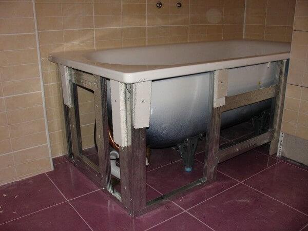 ванна каркас