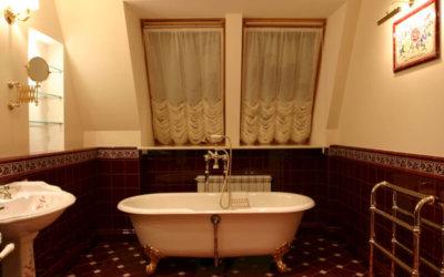 Классический интерьер в ванной комнате: роскошь и практичность обеспечена