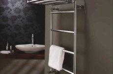 Установка полотенцесушителя в ванной комнате