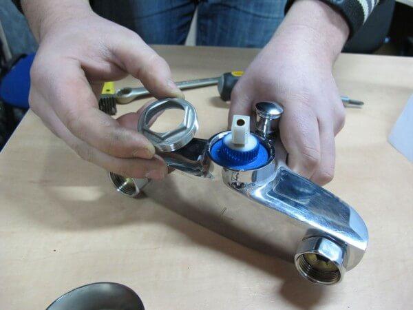 ремонт смеситель
