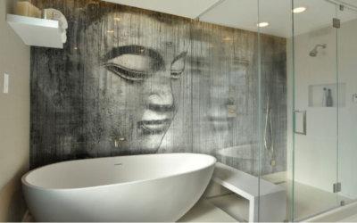 Правильный цвет ванной комнаты согласно науке фен-шуй
