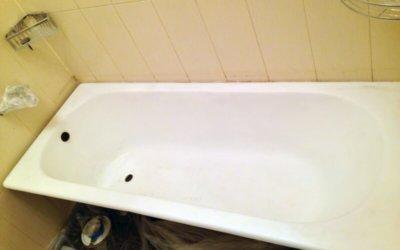 Как своим руками сделать эмалировку ванны