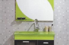 Стеклянная мебель в дизайне ванной комнаты